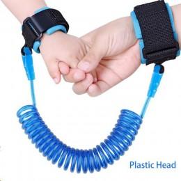 Chroniący przed zgubieniem nadgarstek Link maluch smycz szelki bezpieczeństwa na pasek dla dziecka liny Outdoor Walking smycz na