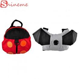 Popularny nosidełko dla dziecka Anti-lost uprząż plecak dla dzieci Keeper maluch Walking torba bezpieczeństwa pasek Rein Goldbug