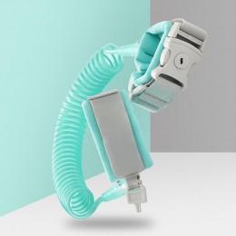 Anty stracił Link dodaj klucz blokady wózek dla dziecka smycz szelki bezpieczeństwa pasek dla dziecka nadgarstek regulowany dzie