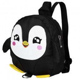 Kreskówkowy pingwin szelki bezpieczeństwa dla dzieci plecak maluch torba zapobiegająca zgubieniu dzieci tornister regulowany pas