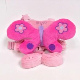Śliczne 2 w 1 uprząż Buddy szelki bezpieczeństwa dla dzieci zabawka w kształcie zwierzątka plecaki Bebe Walking Reins maluch smy