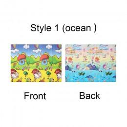 Mata do zabawy dla dzieci Xpe Puzzle mata dla dzieci zagęszczony Infantil Pad mata składana dywan dla dziecka miękkie podłogi in