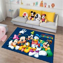 Disney kreskówka myszka miki i myszka Minnie wycieraczka do butów dla dzieci chłopcy dziewczęta mata do gry sypialnia dywan kuch