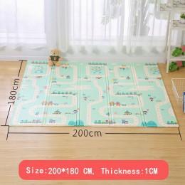 XPE mata do zabawy dla dzieci zabawki dla dzieci mata dla dzieci dywan Playmat maty do układania maty do puzzli Kid Toddler Craw