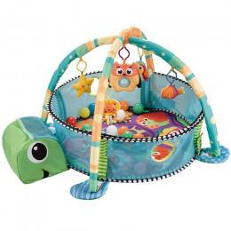 Dziecko rozwijające się siłownia Playmat aktywność dziecka siłownia Turtle Design Balls w zestawie
