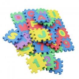 36 sztuk wzór w napisy pianka Puzzle dywan dla dzieci dywan Split EVA mata do gry dla dzieci kryty miękka aktywność podkładka do