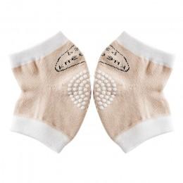 0-18 miesięcy babys antypoślizgowe ochraniacze na kolana ochraniacze pełzające antypoślizgowe nakolanniki pełzające ochraniacze