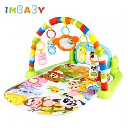 IMBABY dziecko aktywność siłownia rozwój mata siłownia fortepian mata do zabawy dla dzieci dywan dla dzieci dywan edukacyjny Pla