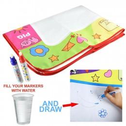 Nowe zabawki dla dzieci woda rysunek pisanie malowanie mata dziecko siłownie gier pokładzie 1 magiczny długopis Doodle Mat