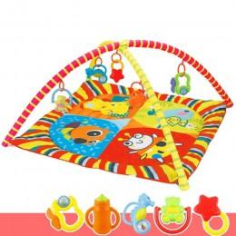 Dzieci dzieci dziecko Fitness Rack koc do zabawy indeksowanie mata dywanowa siłownia zabawki rozwój intelektualny M09
