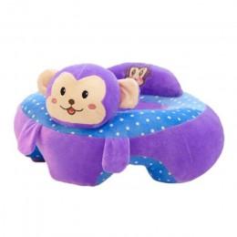 Przenośne krzesełko do karmienia foteliki dla dzieci Sofa zabawki Cartoon zwierząt Seat wsparcia siedzenia dla dzieci pluszowa z