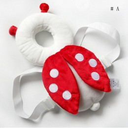 2019 nowe słodkie dziecko niemowlę maluch noworodka głowę do tyłu Protector bezpieczeństwa Pad szelki nakrycia głowy kreskówki d