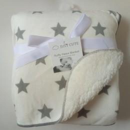 Kocyk dziecięcy nowy marka zagęścić podwójna warstwa koral polar niemowlę przewijać wózek kopertowy Wrap dla noworodka pościel d