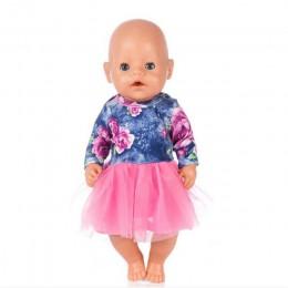 Ubranka dla lalki urodzone dziecko pasuje 18 cali 40-43cm jednorożec Alpaca kaktus sukienka akcesoria dla lalek ubrania dla dzie