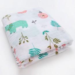 Nowe bawełniane pieluchy Supersoft muślin odbierające kocyk dziecięcy ręcznik owijka dla niemowląt łóżeczko dla dziecka akcesori