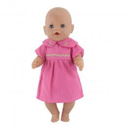 Nowe ubranie dla 43cm Zapf laleczka bobas 17 Cal Reborn Babies lalki ubrania
