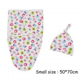 2 sztuk/zestaw muślin dziecko przewijać pieluchy 100% bawełna niemowlę noworodka cienki otulaczek koperta pieluszki Swaddleme Sl