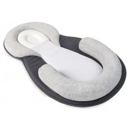 Poduszka pozycjonująca dla niemowlaka bawełniana miękka wygodna szara beżowa modna oryginalna