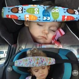 Niemowlę fotelik samochodowy dla dziecka zagłówek pas dla dzieci pas do przypinania regulowany kojec pozycjoner snu poduszki bez