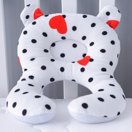 Muslinlife 2019 moda wklęsła poduszka dla dziecka szyi głowy dziecko dzieci poduszki miękka bawełna snu poduszka dla dziecka Ant