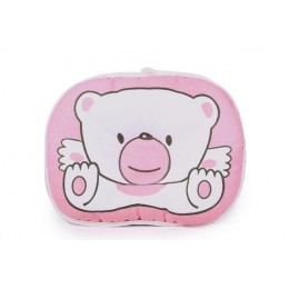 Gorący sprzedawanie pościel dla niemowląt druku niedźwiedź owalny kształt 100% bawełna dziecko poduszka miś wysokiej jakości YYT