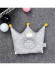 Poduszka kształcująca noworodek noworodek śliczne oparcie poduszka 0-1 lat anty-głowa korekta poduszka pościel do sypialni dekor