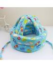 Regulowana ochrona głowy dziecka Pad dziecko antykolizyjna czapka ochronna Baby Walk Sit hełm ochronny niemowlę Anti-kask Protec