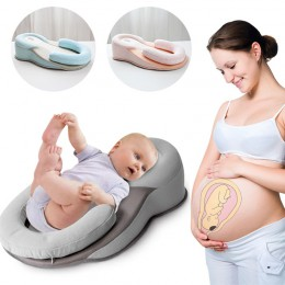 Dziecko stereotypy poduszka noworodka anty-rollover materac poduszka niemowlę pluć mleko szopka dziecko spanie pozycjonowanie na