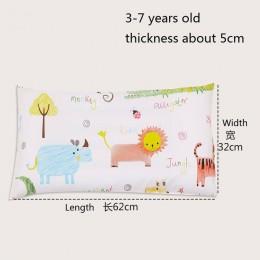 4 kolory Cartoon bawełna poduszka dla dzieci, miękkie, zmywalne, do spania dla dzieci głowy poduszki wydłużyć prostokąt maluch p