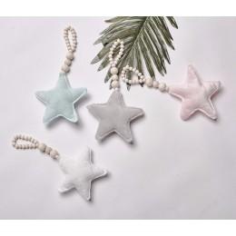 Dekoracja dla dzieci Pole Nordic Moon Star koraliki zabawki dziecko sypialnia namiot szopka dekoracyjne dekoracje fotografia rek