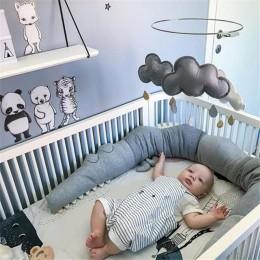 185cm noworodek ochraniacz do łóżeczka dla dzieci krokodyl poduszka zderzak łóżeczko dziecięce ogrodzenie poduszka bawełniana de