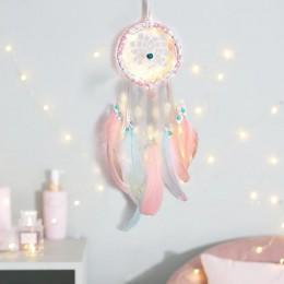 DIY łapacz snów kolor wystrój dekoracja do pokoju dziecięcego ściany wiszące pościel zderzaki Kids Party Kids pokój dziewczyn De