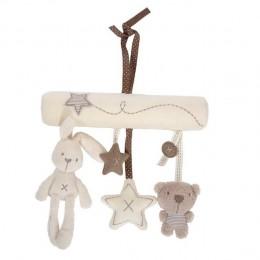 Łóżeczko dziecięce zabawka z wisiorkiem muzyka aksamitna zabawka z wisiorkiem nowy prezent