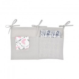 Dla niemowląt wielofunkcyjna torba do przechowywania noworodek łóżeczko dziecięce torba do zawieszenia pielucha dla niemowląt or