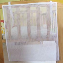 Mesh Baby Crib Organizer na pieluchy tanie organizator łóżeczko dla dziecka noworodka pościel dzieci szopka worek do przechowywa