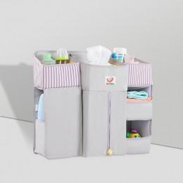 Dziecko dziecięce łóżko wisząca torba do przechowywania łóżeczko dla dziecka organizer na pieluszki komplety pościeli akcesoria