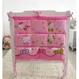 Cartoon pokoje przedszkole wisząca torba do przechowywania łóżeczko dla dziecka łóżeczko łóżeczko organizator 60*52cm zabawka pi