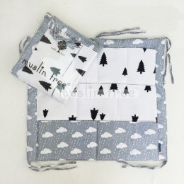 Łóżeczko dla dziecka łóżko pokoje przedszkole wisząca torba do przechowywania bawełna Cartoon noworodka szopka łóżeczko organiza