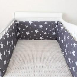 Osłona do łóżeczka wokół łóżeczka łóżeczko dziecięce zestawy do łóżeczka zderzaki do łóżeczka dziecięcego kołyska Cartoon Boy Gi
