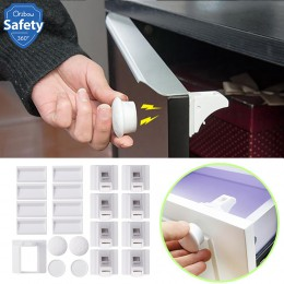Magnetyczne zabezpieczenie przed dziećmi dla dzieci szafa bezpieczeństwa drzwi szufladowe blokada dzieci szafa niewidoczne zamki