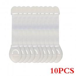 10 sztuk/partia ochraniacze zabezpieczające przed dziećmi dziecko szafka blokująca plastikowe zabezpieczenie ochrona dzieci blok