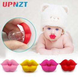 1PC smoczek dla niemowląt niemowlę pocałunek Lip Dummy smoczek Unisex śmieszne silikonowe smoczek dla niemowląt smoczek dla niem