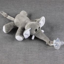 Duża lalka Baby Boy Girl Dummy klips z łańcuszkiem do smoczka pluszowe zabawki zwierzęta smoczek sutki Holder (nie obejmuje smoc