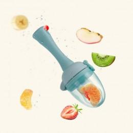 Gryzaki dla niemowląt z łańcuszek smoczka prezent świeże jedzenie Nibbler podajnik owoców dla dzieci sutki karmienie bezpieczne