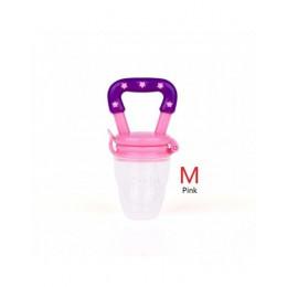 TYRY. HU 1 PC gryzak dla niemowląt sutek owoców żywności Mordedor Silicona Bebe silikonowe gryzaki podajnika bezpieczeństwa gryz