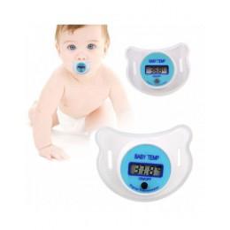 Miękkie niemowlę dziecko dziecko sutek LCD cyfrowy usta smoczek termometr dzieci zdrowie bezpieczeństwo opieki FJ88