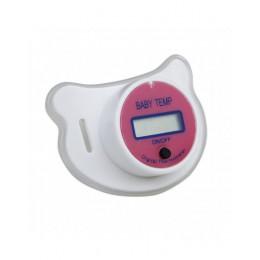 Termometr na smoczek dla niemowląt medyczny smoczek silikonowy LCD cyfrowy termometr dla dzieci termometr bezpieczeństwa dla dzi
