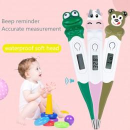 Termometr dla dziecka Cartoon Animal usta wodoodporny przenośny termometr termometr dla dzieci Digitales dla niemowląt dorosły c