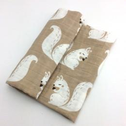 58x58cm muślin bawełna organiczna ręczniki dla dzieci szalik przewijać ręcznik noworodki chusteczka kąpiel karmienie twarz myjka