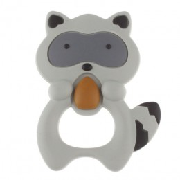 Jednorożec silikonowe dziecko gryzak Cartoon zwierząt Mordedor BPA bezpłatne gryzonie ząbkowanie naszyjnik DIY prezenty na przyj